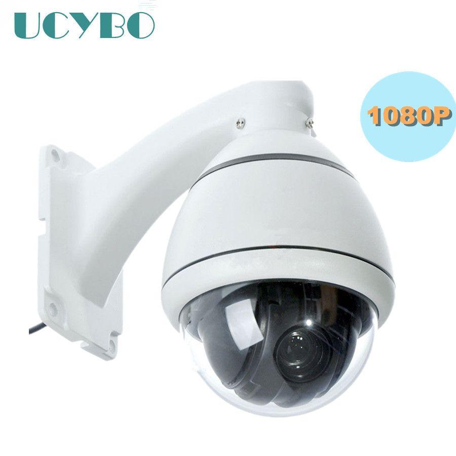 Caméra de sécurité cctv 1080 P HD AHD PTZ extérieure mini vitesse dôme panoramique inclinaison 4x zoom surveillance vidéo RS485 2mp ahd 2000TVL PTZ cam