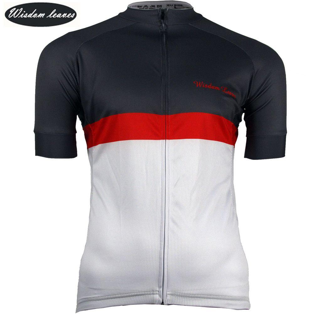 Weisheit Blätter 2017 frauen Sport radfahren jersey t-shirt bike shirt Männer maillot ciclismo equipos Team fahrrad kleidung