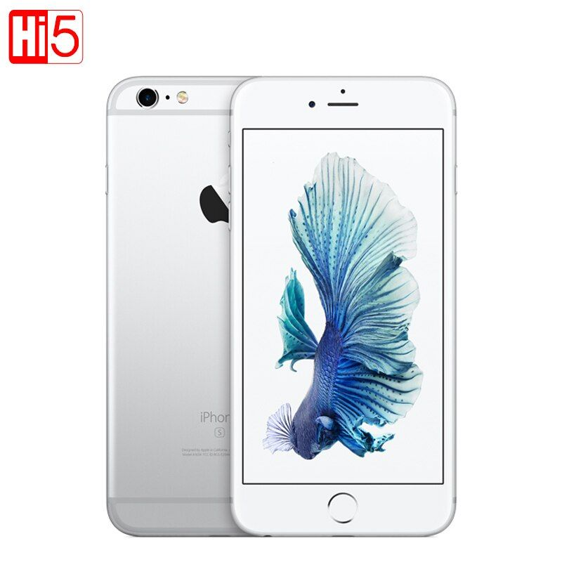 Entsperrt Apple iPhone 6 s plus 16g/64g/128g ROM 5,5 12.0MP Kamera 4 karat Video iOS LTE handy Dual core GPRS Fingerprint