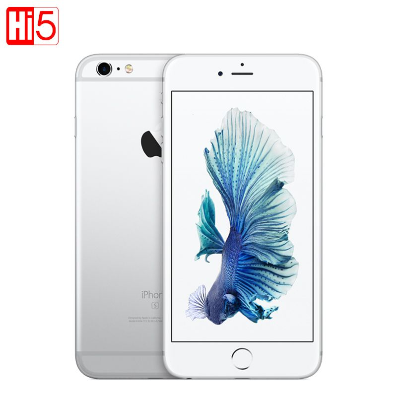 Unlocked Apple iPhone 6S plus 16G/64G/128G ROM 5.5 12.0MP Camera 4K Video iOS LTE mobile phone Dual core GPRS Fingerprint