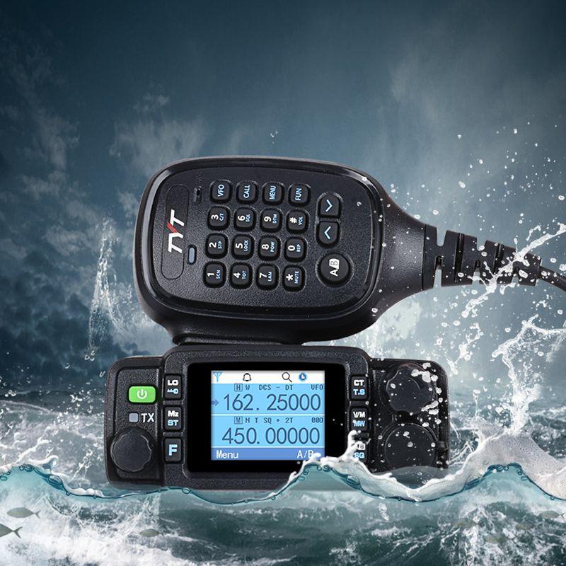 TYT TH-8600 IP67 waterproof portable radio car station for cars transceiver ham portatiles uhf vhf walkie-talkie moto marine