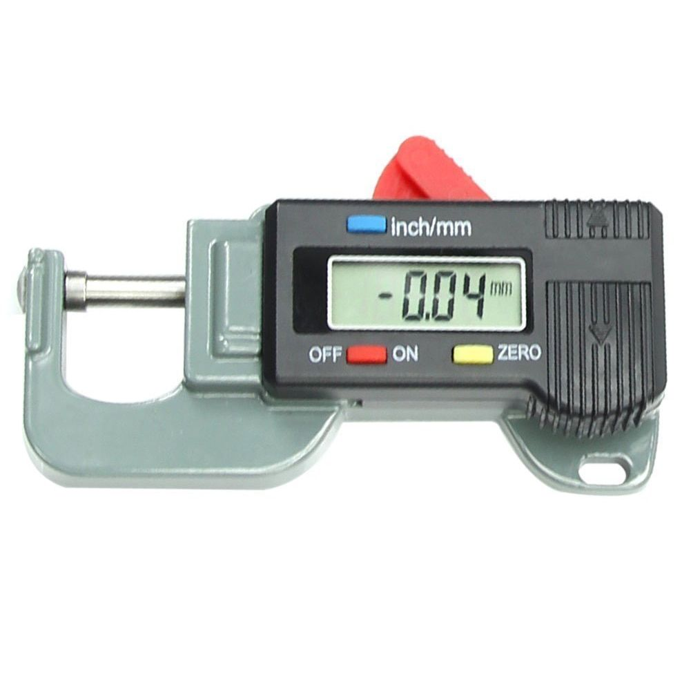 MYLB-Portable Precise Digital Thickness Gauge Meter Metal Tester Micrometer 0 to 12.7mm