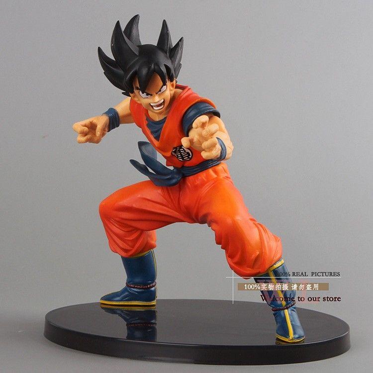 Free Shipping Dragon Ball Z Figures The Monkey King Goku PVC Action Figure Toy 615CM <font><b>Birthday</b></font> Christmas Gift DBFG053