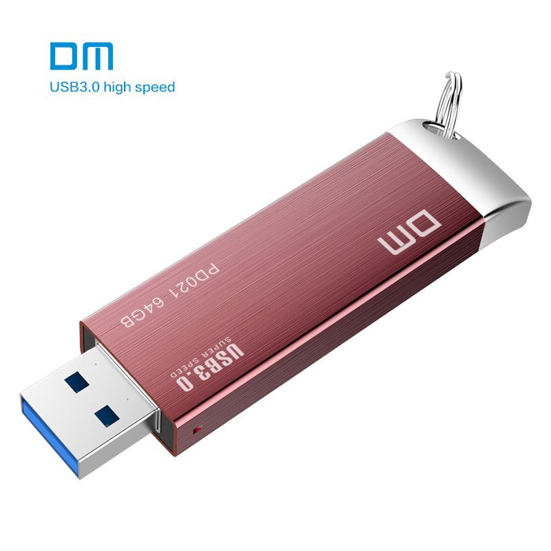 PD021 DM envío libre 16 GB 32 GB 64 GB 128 GB 256 GB Unidades Flash USB del Metal Del USB 3.0 de alta velocidad de escritura de 10 mb/s-60mb/s