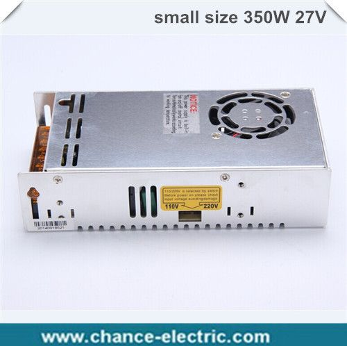 Small Volumeac ac to dc single output 27v MS-350-27 powered ac adapter 27V power supply 350w high efficiency