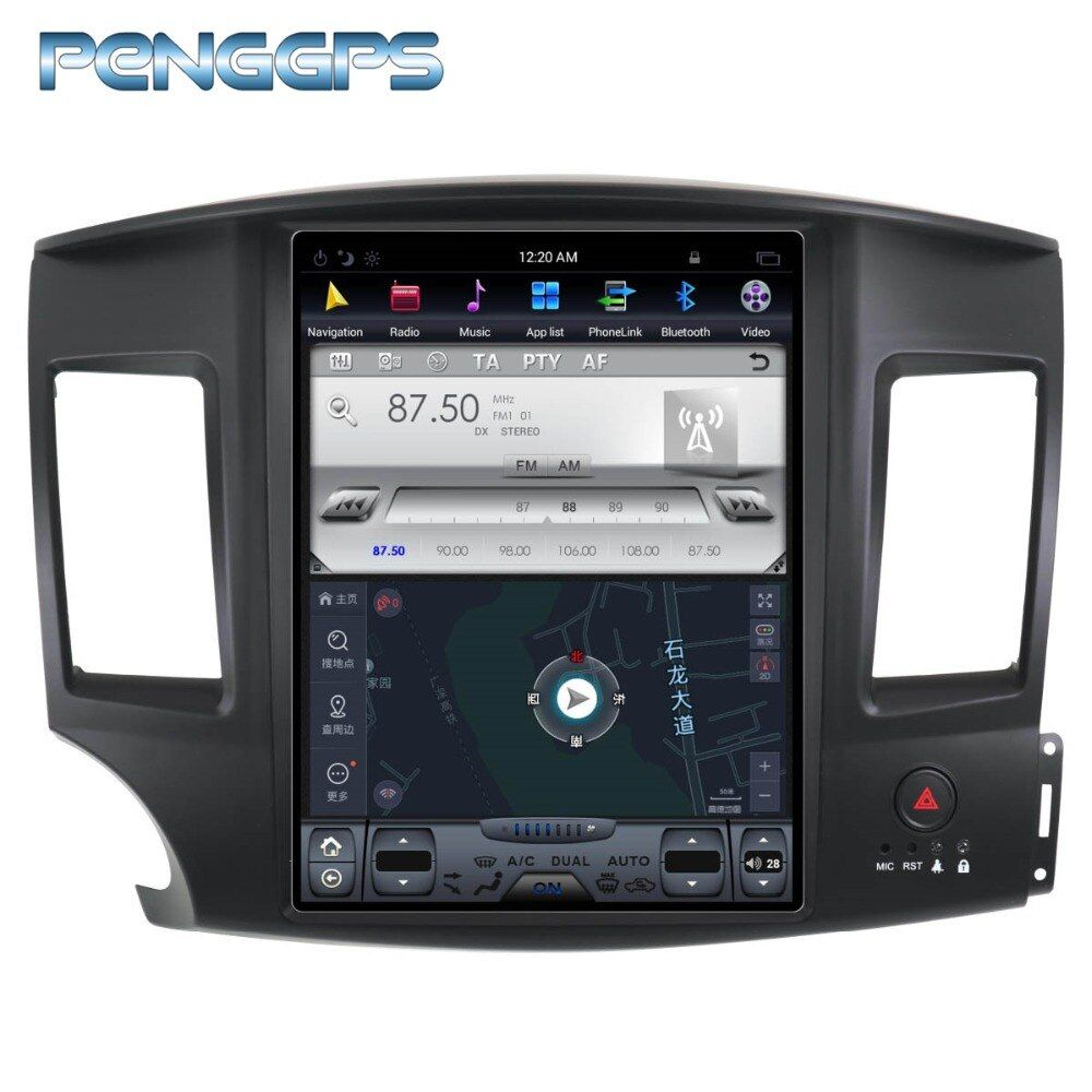 12.1 Inch 2 Din Android 7.1 Car Radio for Mitsubishi Lancer 2007-2017 GPS DVD Player Navigation Autostereo 1024*600 1080P Video