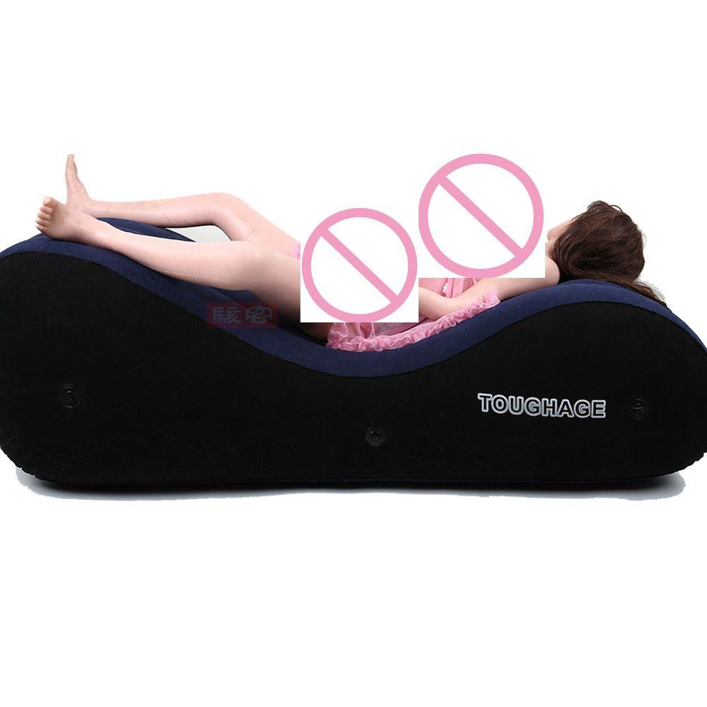 Toughage PF3207 Gonflable canapé lit NOUS entrepôt expéditions sex toys pour couples amour de sexe chaise oreiller adulte de sexe meubles