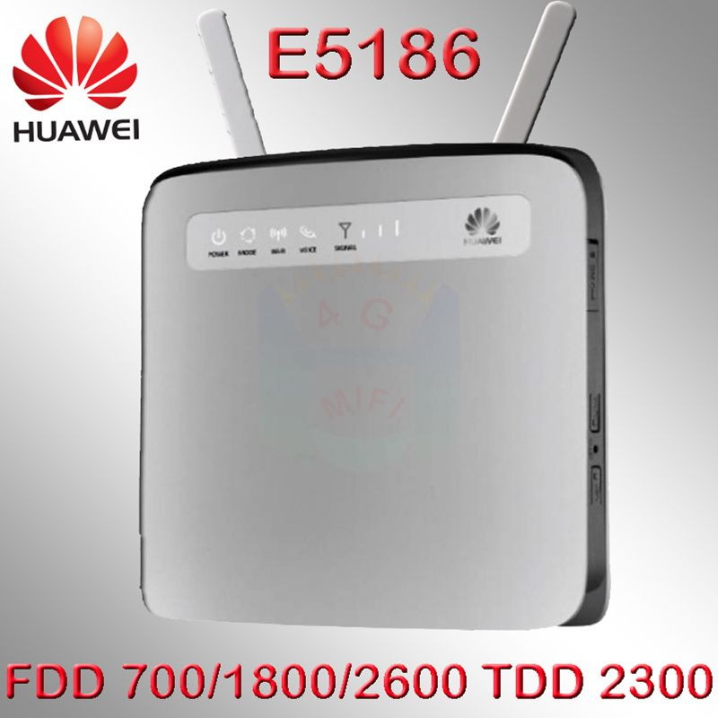 Lte Cat6 300 Mbps débloqué Huawei E5186 E5186s-61a LTE 4g wifi routeur 4g lte dongle e5186-61 pk b593 e5172 e5786 e5175