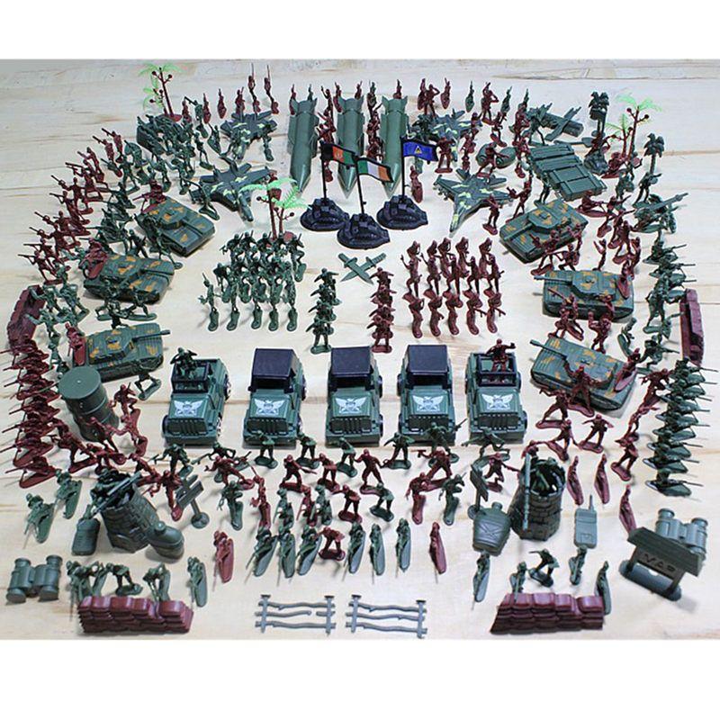 307 шт. солдат комплект, Майка ракетных армии Для мужчин сцены песок модель