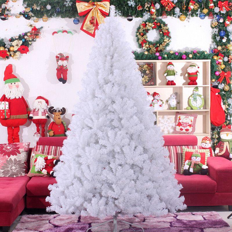 3.0 m 4.0m large high-grade white Christmas tree PVC environmentally friendly materials wholesale Christmas decoration