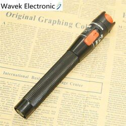 10mW Visual Fault Locator Fiber Optic Cable Tester 10mw Red Laser Light 10-12KM Pen Type Visual Fault Locator Free Shipping