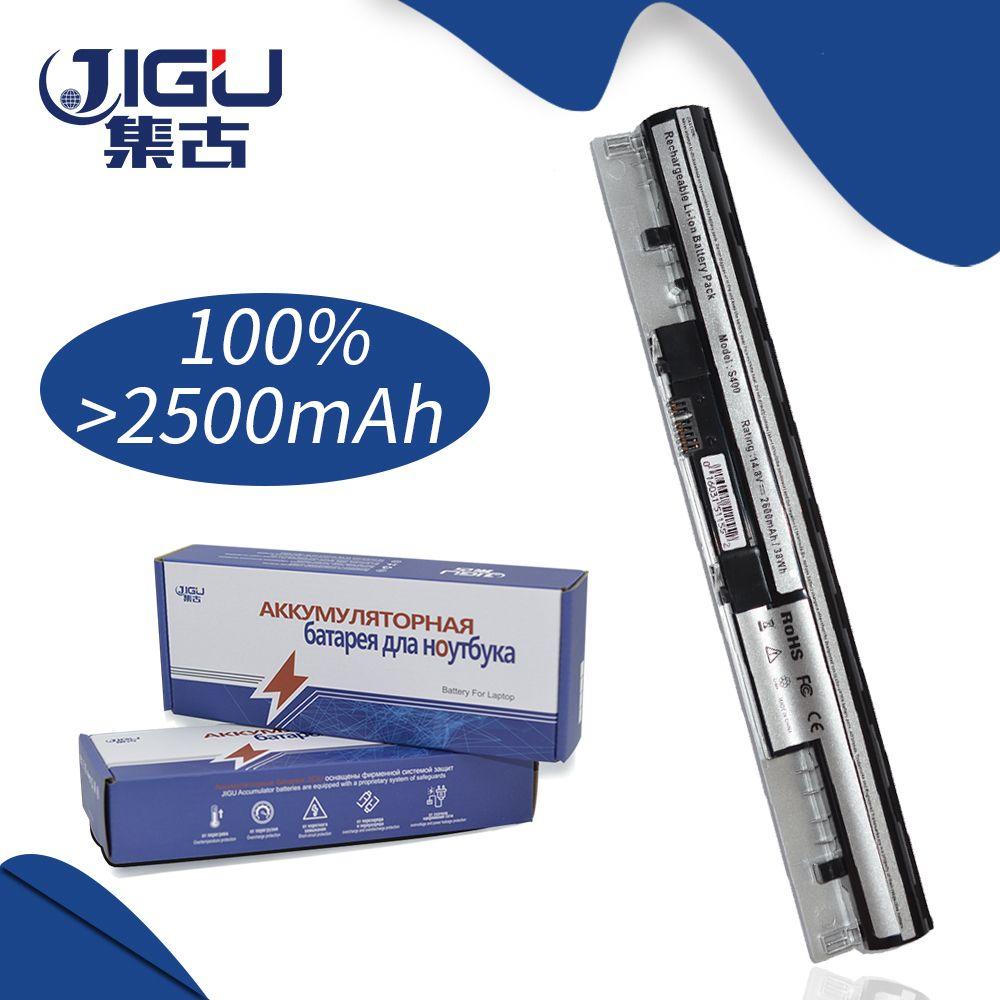 JIGU Batterie Für Lenovo Ideapad S300 S400 S415 S405 Batterien L12S4Z01 Silber