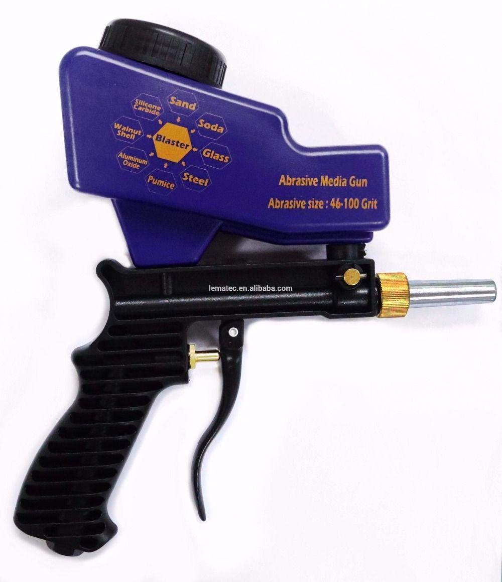 Lematec самотеком Пескоструйная пистолет air sandblast песок пистолет для удаления ржавчины Джет воздуха инструменты