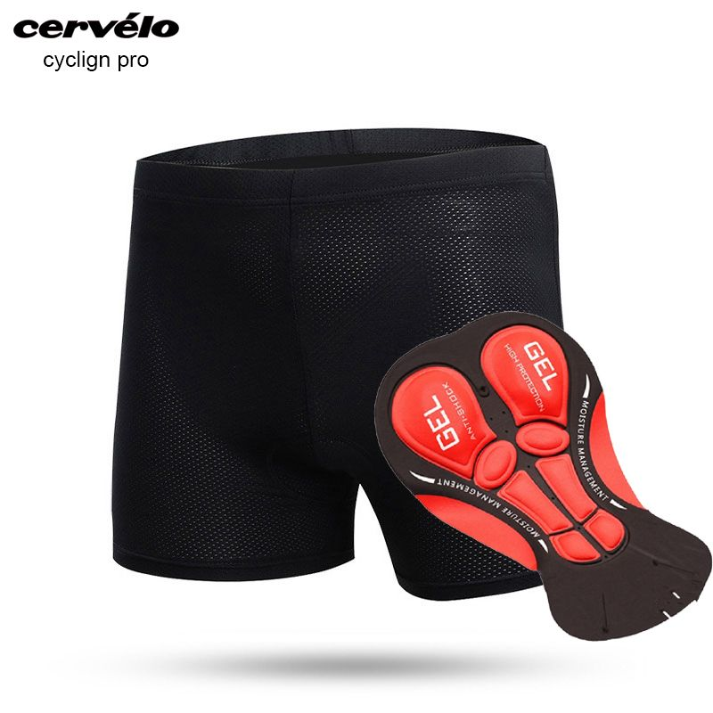 Mens Cycling Shorts Cycling Underwear Pro 9D 12D 19D Gel Padded Shockproof Black Cycling Underpant Bicycle Shorts Bike Underwear