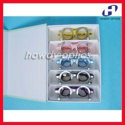 5 pcs Bingkai Colorful Set PD Optometry Percobaan TF-A Optik 52 54 56 58 60 62 64 66 68 70 opsional