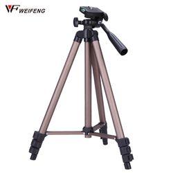 Weifeng wt3130 Алюминий сплав Камера штатив с коромысла штатив для фотоаппарата для Canon Nikon Sony Зеркальные фотокамеры Видеокамеры легкий мини-штати...