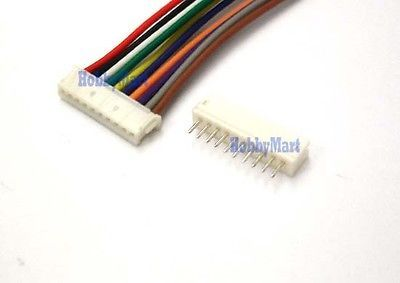 Micro ZH 1.5mm 10-Pin Female Connector with Wire and Male Connector x 10 sets