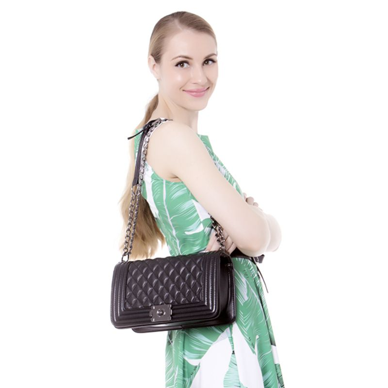 Luxury Handbags Women Bags Designer Vintage Chain Shoulder Bag PU Leather Small Crossbody Bag For 2018 bolsa feminina sac a main