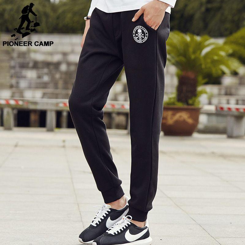 Pioneer Camp Dicke Fleece casual hosen männer marke kleidung Herbst winter hosen männlich jogginghose top-qualität warmen jogger