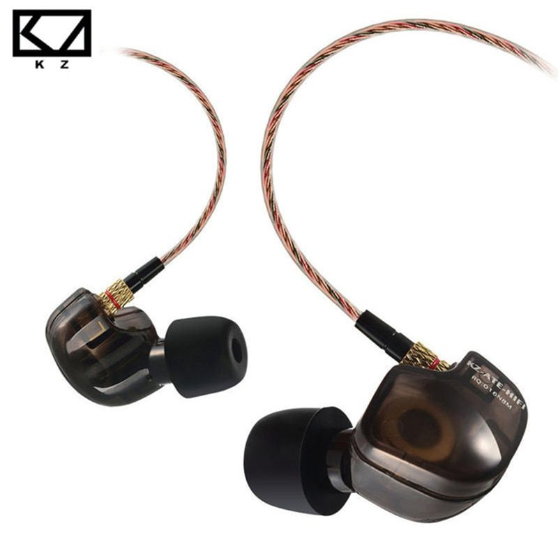 KZ ATES ATE ATR Earphones with Microphone for Phone Stereo HD HiFi Professional Sport Running Headset Driver Earbuds Monitor