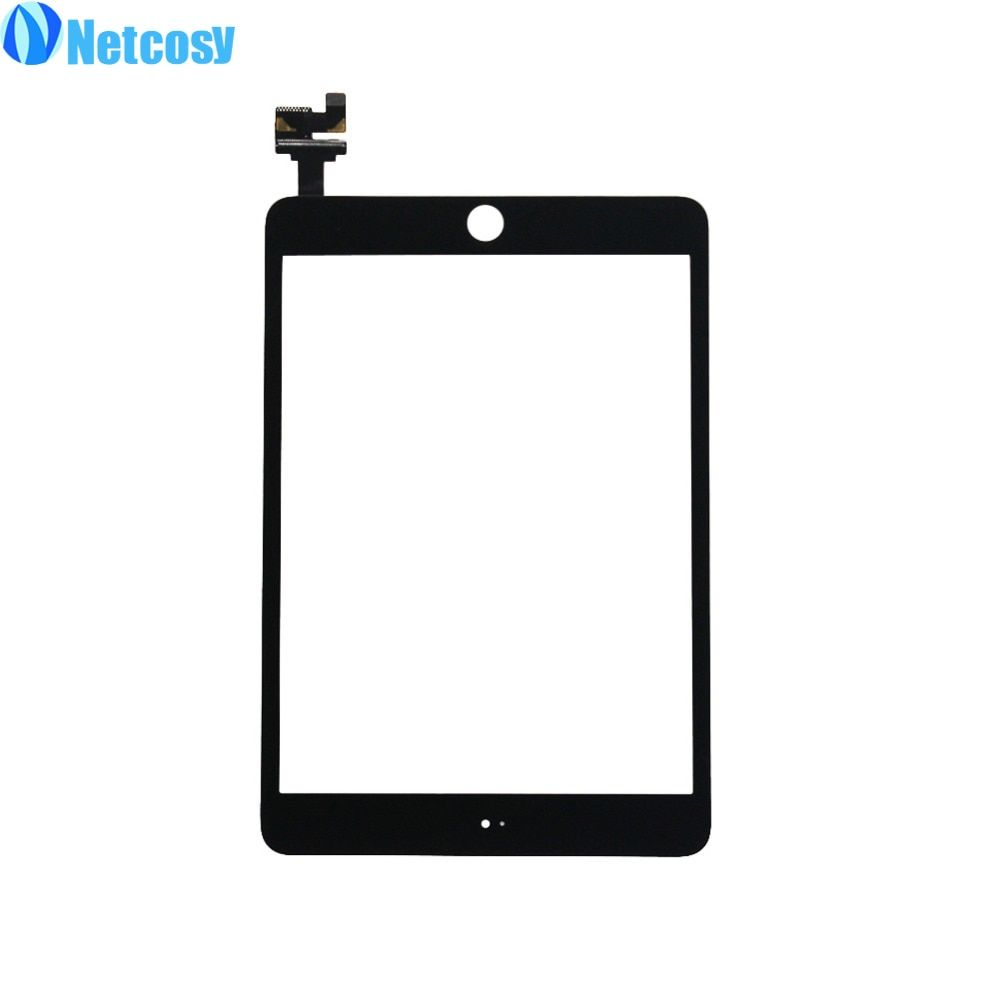 Netcosy For ipad mini 3 Touch Screen Glass Digitizer panel with IC Connector Replacement parts for iPad mini 3 Touchscreen