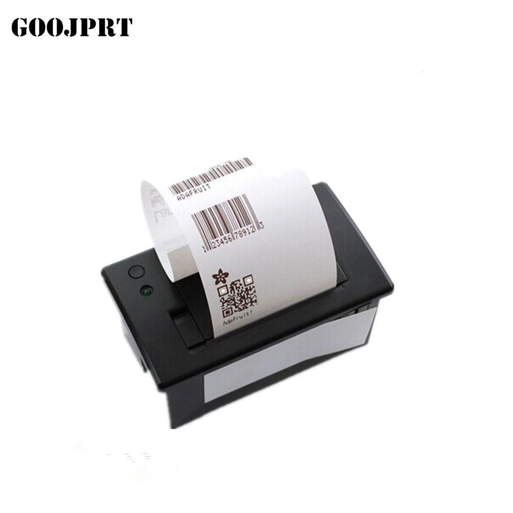 Livraison gratuite 58mm mini imprimante thermique RS232/TTL panneau imprimante bluetooth imprimante