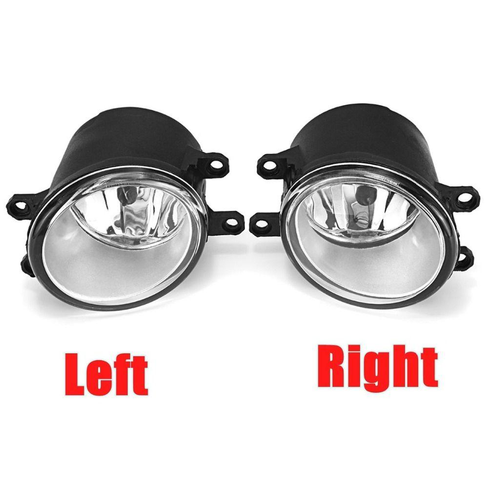 2Pcs Fog Light Lamp Left+Right H11 Bulb For Toyota/Camry/Corolla/Yaris/RAV4/Lexus CT200h LX570 RX450h IS250