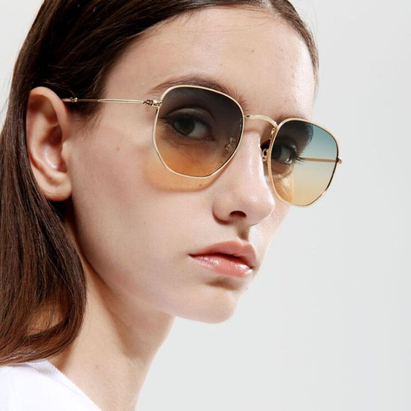 KDDOU new brand sunglasses women brand designer fashion sunglasses square retro sunglasses metal frame sunglass uv400 oculos