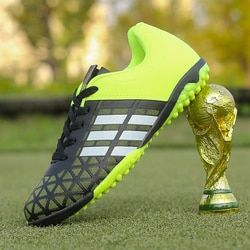 2019 Size 33-43 Men Boy Kids Soccer Cleats Turf Football Soccer Shoes TF Hard Court Sneakers Trainers New Design Football Boots