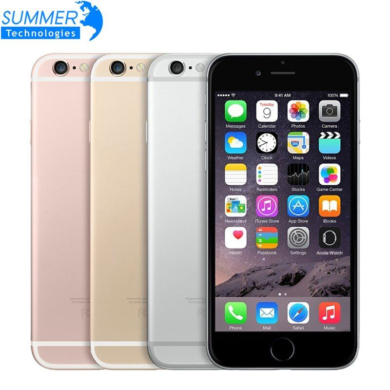 Original Unlocked <font><b>Apple</b></font> iPhone 6S Mobile Phone IOS 9 Dual Core 2GB RAM 16/64/128GB ROM 4.7'' 12.0MP Camera 4G LTE Smartphone