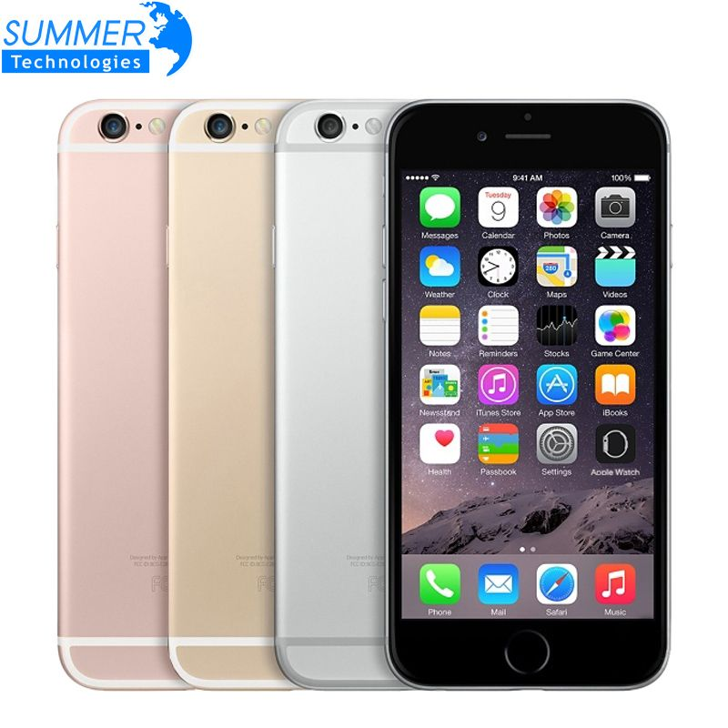 Original <font><b>Unlocked</b></font> Apple iPhone 6S Mobile Phone IOS 9 Dual Core 2GB RAM 16/64/128GB ROM 4.7'' 12.0MP Camera 4G LTE Smartphone