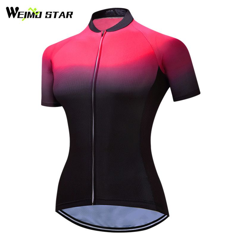 Weimostar 2017 Cycling Jersey mtb Bike Jersey Shirt Women Short Sleeve Cycling Clothing Bicycle Clothes Ropa Maillot Ciclismo