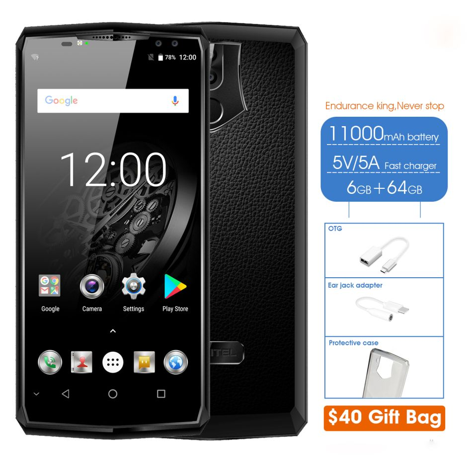 Bussiness Luxury Android Phone Oukitel K10 6