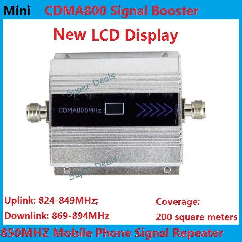 Mini 850mhz cellular signal booster CDMA lte 4g repeater booster 2g gsm repeater repetidor de sinal de celular amplificador wifi