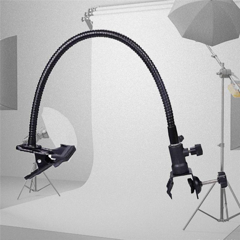 2018 Nouveau Réflecteur Photo Studio Accessoires Lumière Stand Fond Support Pince Bras Flexible Réflecteur