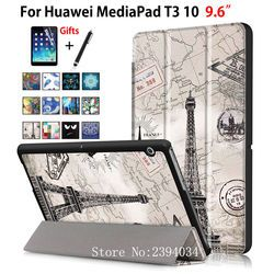 Чехол для Huawei MediaPad T3 10 ags-w09 ags-l09 ags-l03 9.6