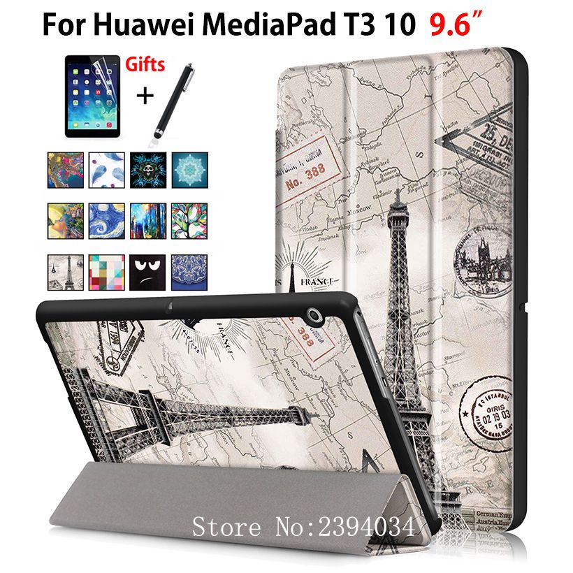 Case For Huawei MediaPad T3 10 AGS-W09 AGS-L09 AGS-L03 9.6