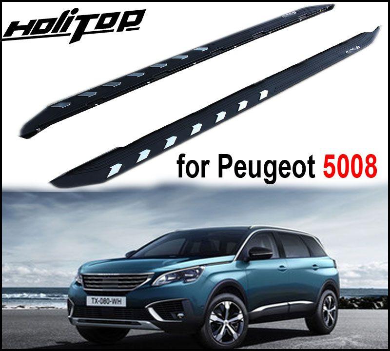 Neue ankunft seite bar seite schritt trittbrett für Peugeot 5008,5 jahre zuverlässige alte verkäufer, garantieren qualität, förderung preis