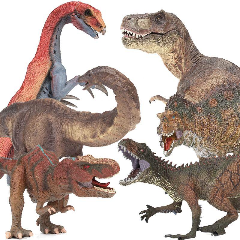 Lamwin мальчик пользу большой Пластик динозавр игрушка Животные цифры реалистичные Юрского периода dinossauro коллекция подарок