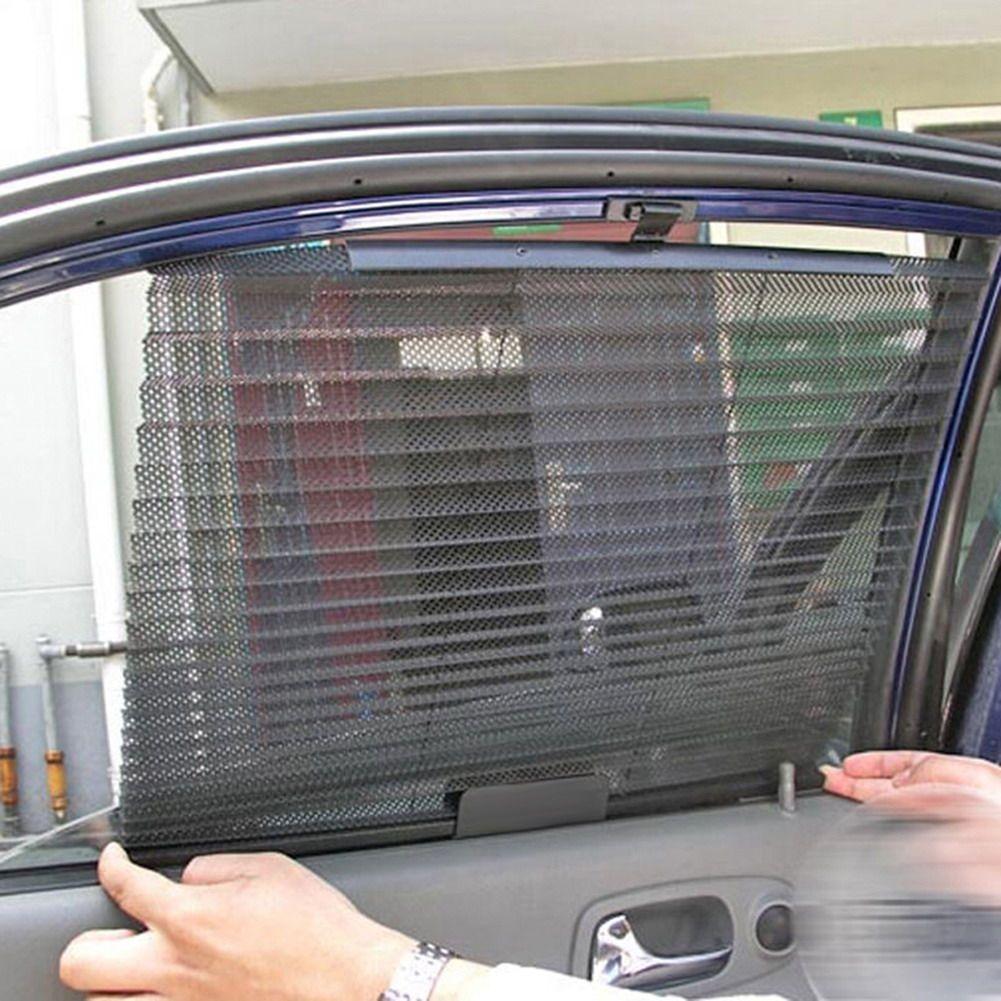 Car Window Sunshade Curtain UV Protection Shield Sun Shade Visor Mesh Sun Visor Shield Car Window Sunshade Protector