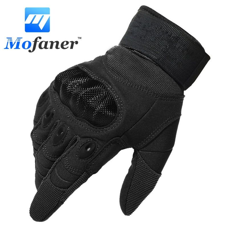 One Pair New Motorcycle Full Finger Gloves Scooter Motorbike Motor Racing Warm Glove