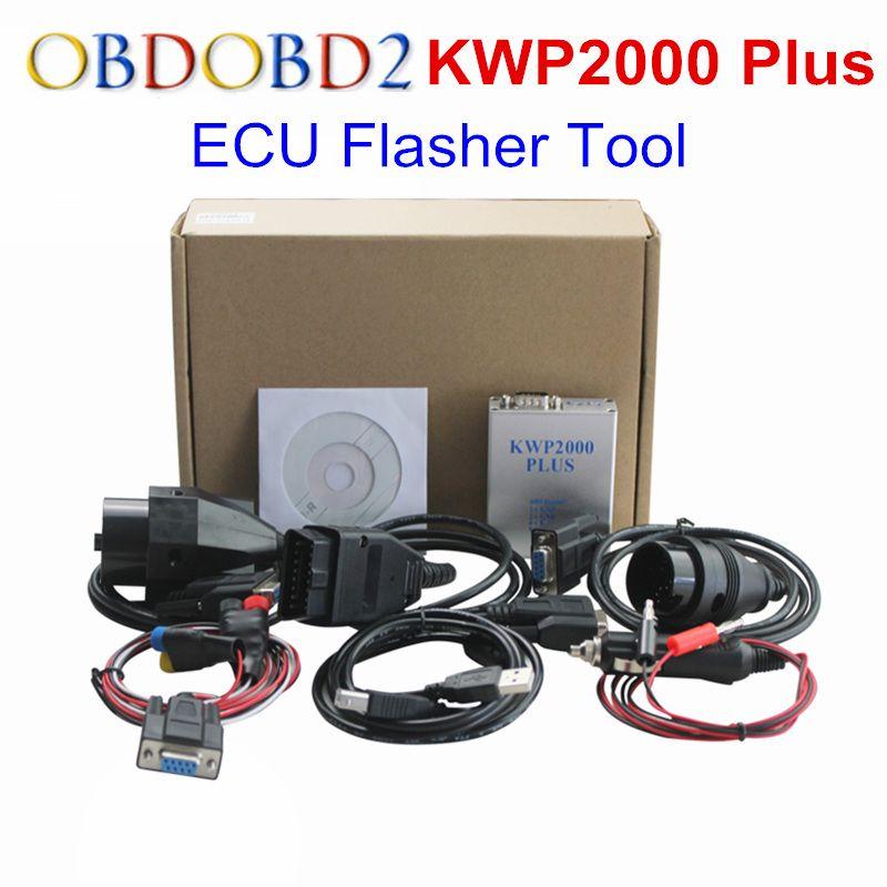 KWP2000 Plus OBDII OBD2 ECU Chip Tuning Tool KWP 2000 Plus ECU Flasher Smart Remapping Decode Werkzeug ECU Programmierer Remap werkzeug