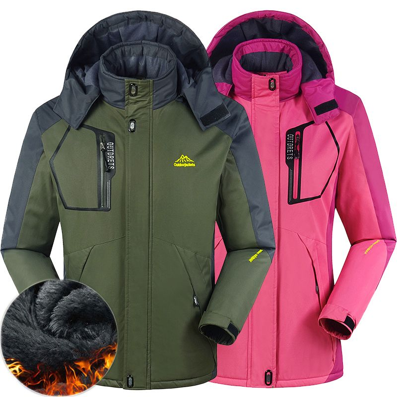 winter men women Camping Hiking Down jacket Outdoor Sports coat thermal climbing skiing fishing Windbreaker waterproof windproof