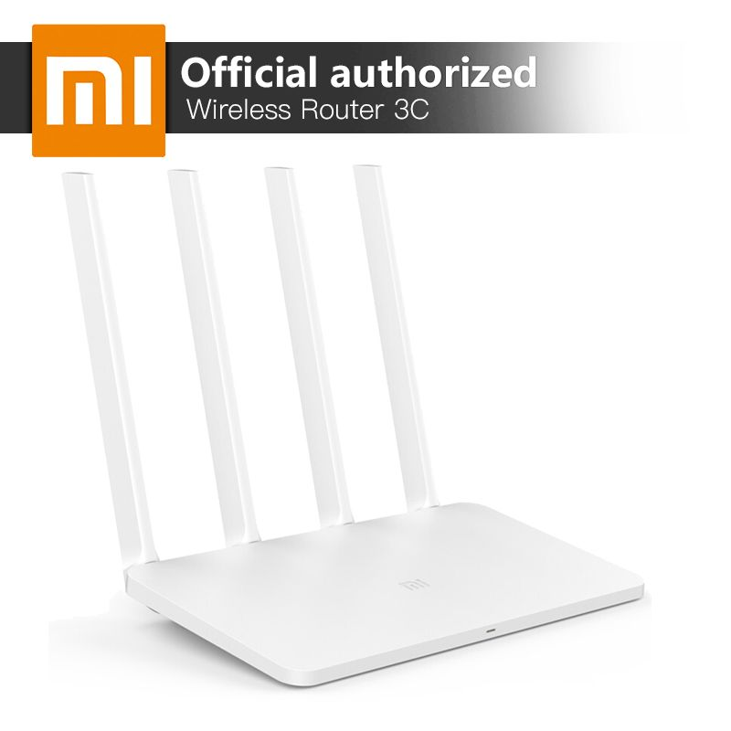 Xiaomi MI WiFi Wireless Router 3C 2.4GHz Smart Mini WiFi Repeater 4 Antennas 802.11n 300Mbps APP Control <font><b>Support</b></font> for iOS Android