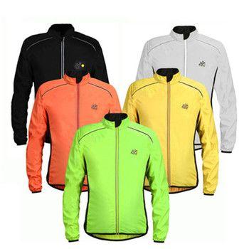 Светоотражающие Тур де Франс Куртки Для мужчин непромокаемые Windcoat Велосипедный спорт джерси открытый с длинным рукавом велосипед куртка ...
