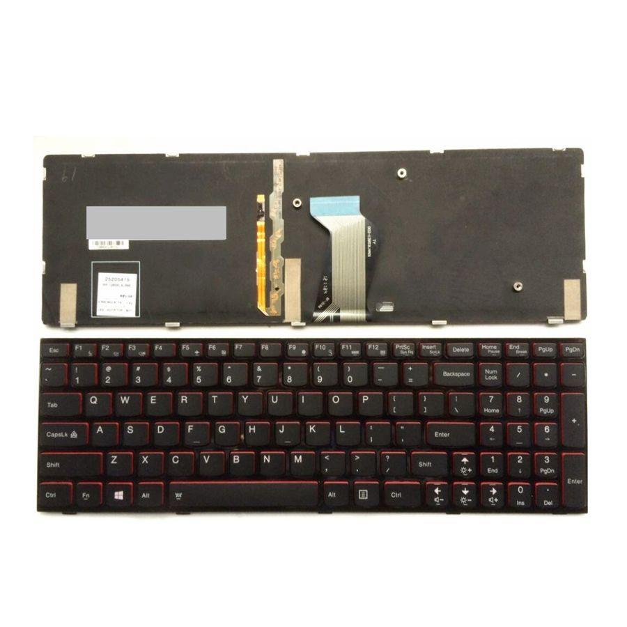 Nouveau Clavier POUR Lenovo Y500 Y500N Y510P Y500NT NOUS clavier d'ordinateur portable rétro-éclairage