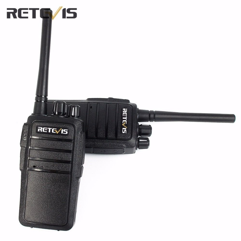 2X Professional Walkie Talkie Retevis RT21 Portable Two Way Radio Scrambler CTCSS/DCS Radio Transceiver 2.5W UHF Walkly Talkly