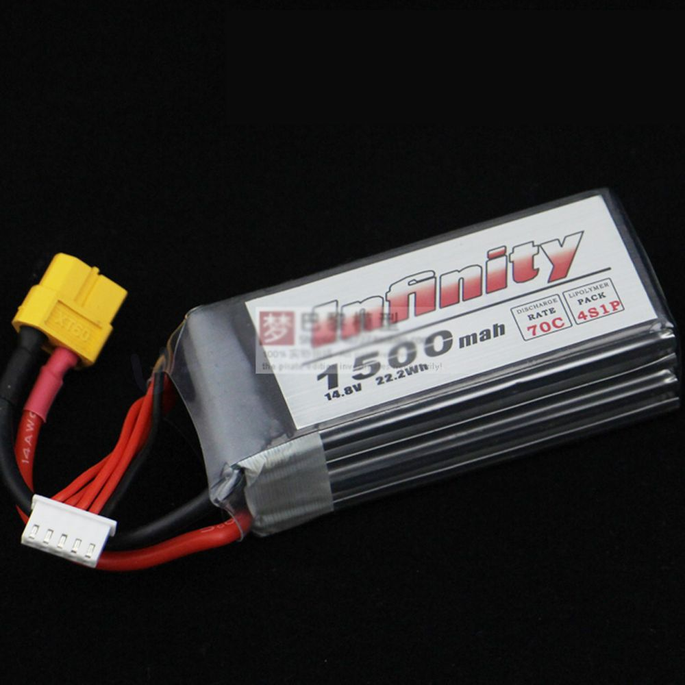 1pcs Original Infinity 4S 14.8V 1500mAh 70C 50C Graphene LiPo Battery XT60 Support 15C Boosting Charge For Racer Drone