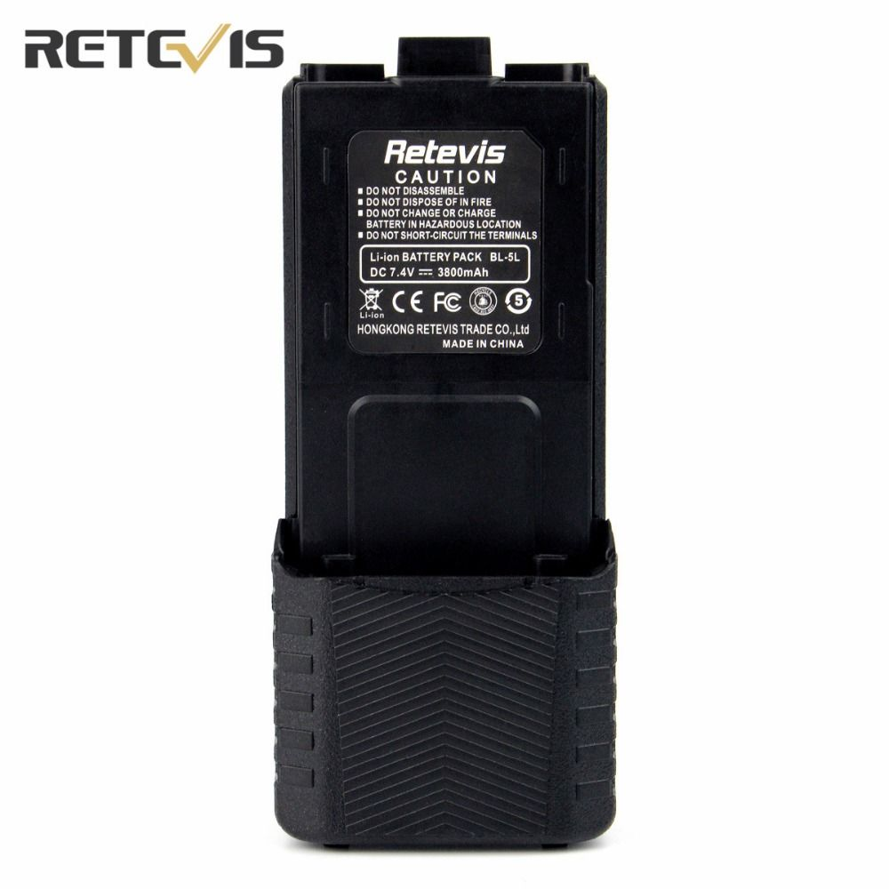 7.4V 2800mAh Li-ion Battery Walkie Talkie Accessories For TYT TH-F8 For Baofeng UV-5R Retevis RT-5R Two Way Radio Moscow