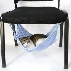 لطيف القطط الصيف المنزل أرجوحة cataccessorie المحمولة القطط الاليفة تنفس شبكة أرجوحة متعددة الوظائف القطط سرير 3 ألوان